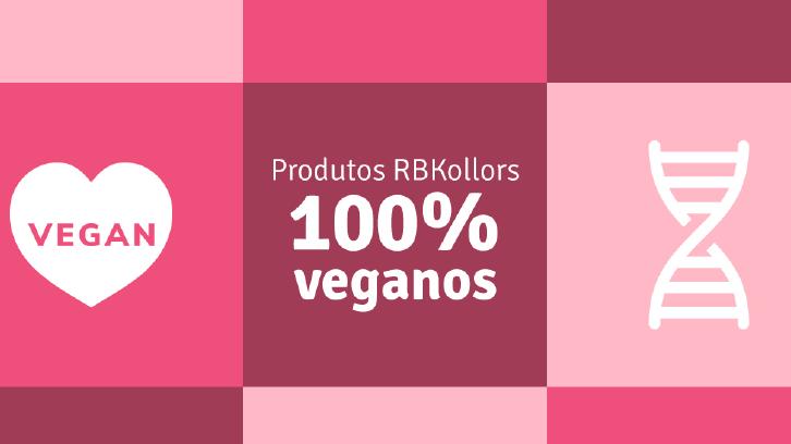 Produtos RBKollors são veganos