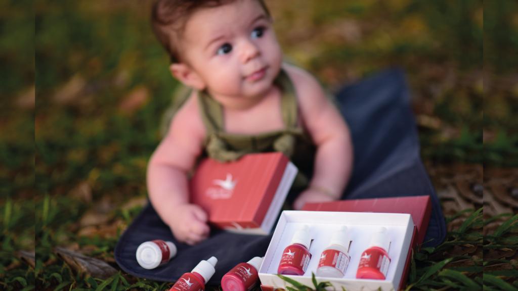 Micropigmentação labial masculina:   Kit Baby Lips foi inspirado em lábios de bebês