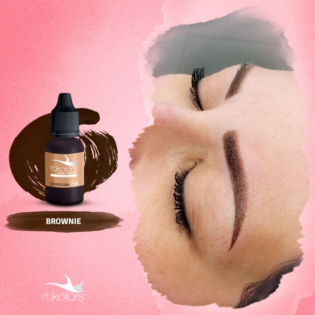 Brownie é um dos pigmentos mais vendidos da Linha Inorgânica RBKollors