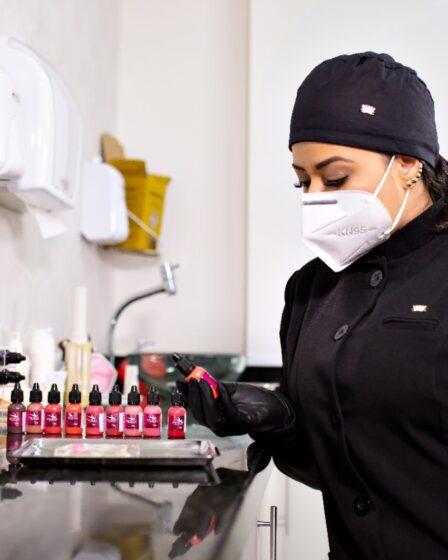 Biossegurança na micropigmentação