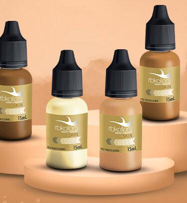Linha Skin - Pigmentos para pele RBKollors